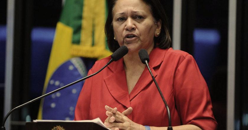 Fátima lidera corrida eleitoral para Governo do RN