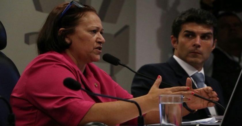 Senadora Fátima Bezerra cobrou cumprimento do calendário para ao ministro da Integração Nacional